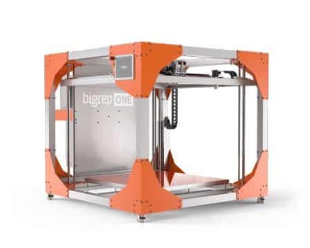 BigRep ONE V3 large 3D printer