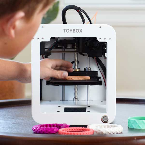 plug and play 3D printer Toybox Labs Toybox