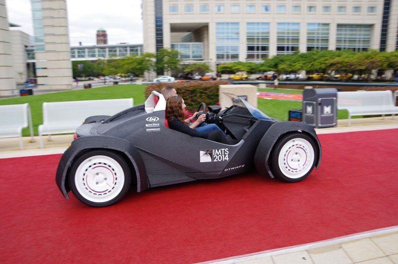 abs 3d printed car by Local Motors 3D