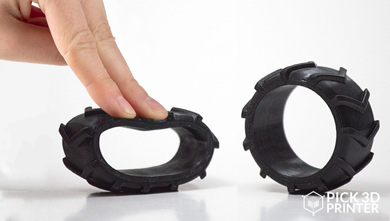 Rubber-like Filaments with Which you Can 3D Print