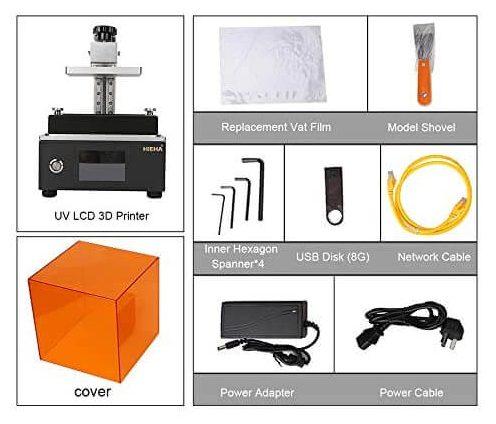 HIEHA SQ1 3D Printer First Impressions