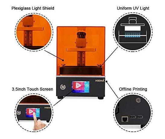 HIEHA SQ1 3D printer Features