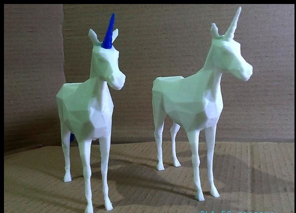 Material for 3D printing Unicorn