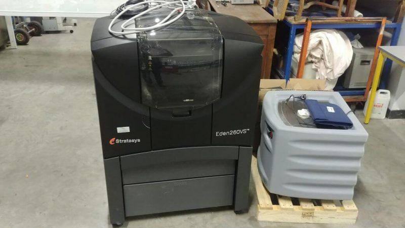 Objet Eden 260VS 3D Printer first impression