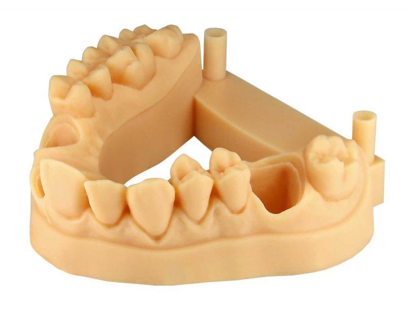 Vida HD Crown & Bridge 3D Printer print quality