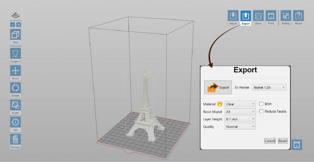 XYZprinting Nobel 1.0 A Software