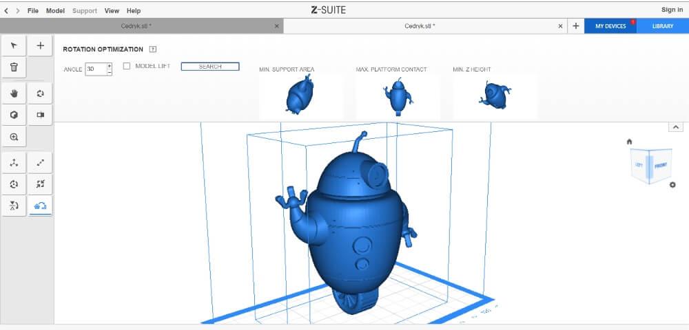 Zortrax-Inkspire-software