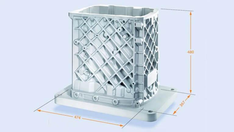 Concept Laser XLine 1000 print quality