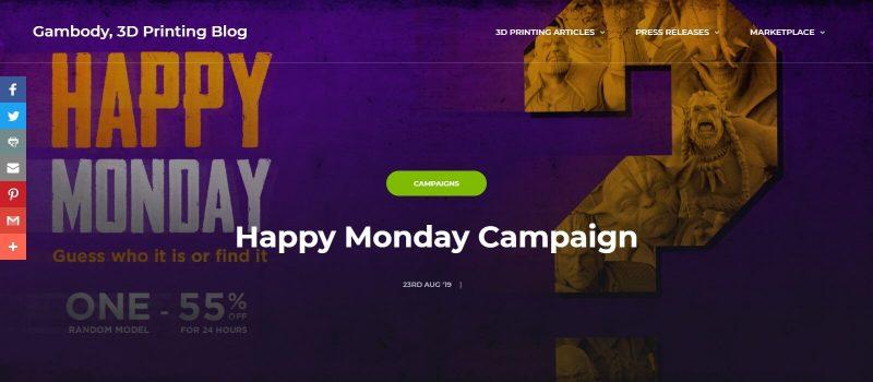 Gambody Happy Monday