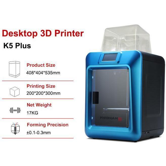 MakerPi K5 Plus features