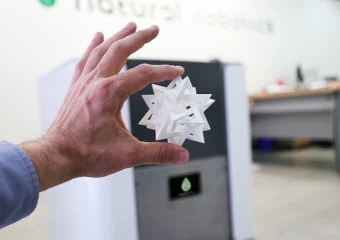Natural Robotics VIT print quality