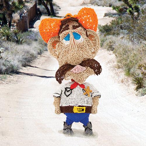 Bobblehead Cowboy