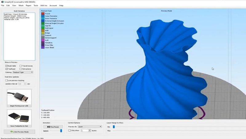 Delta WASP 2040 Clay software