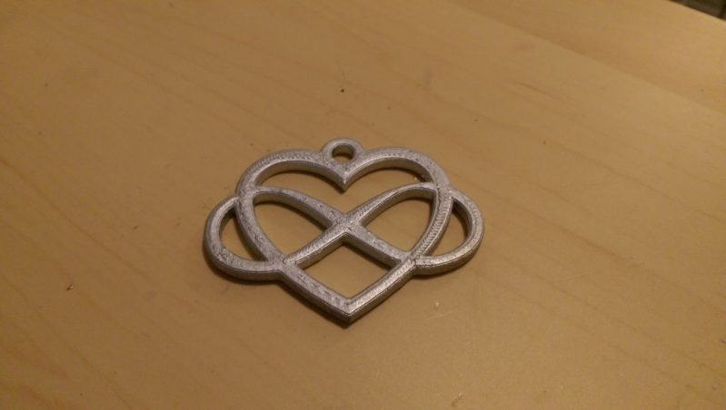 Infinity Heart by Buildtower