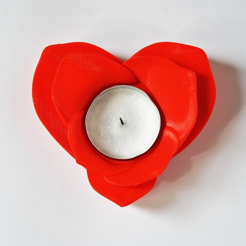 Romantic Tealight Holder by Helder Santos