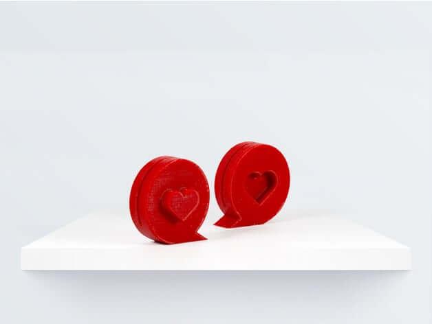 Valentine photo stand by bq3D