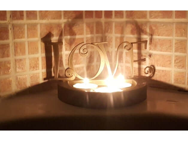 Valentines Floating Candle Holder by acwakeford