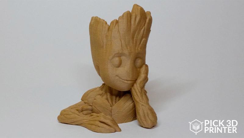 wood 3D printing process