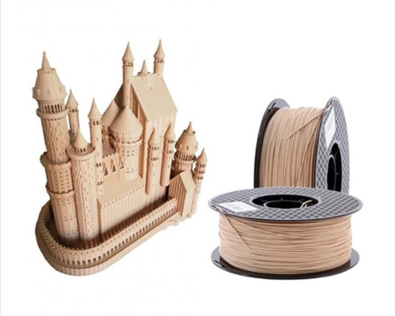 technology used for 3d printing wood