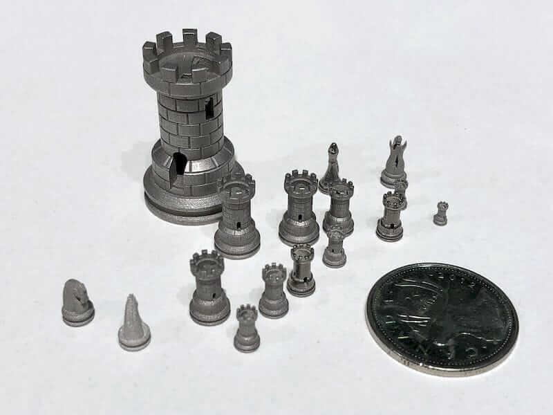 Digital Metal DM P2500 print quality