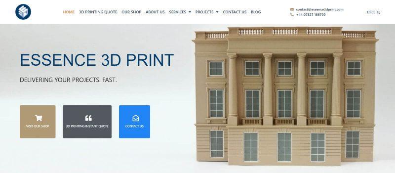 Essence 3D print
