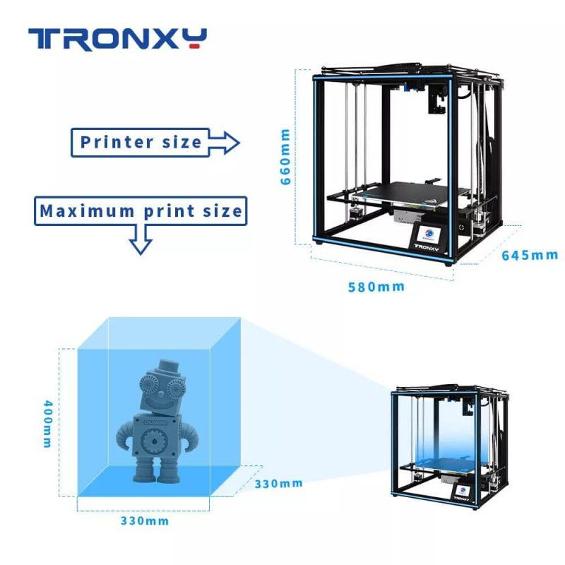 Tronxy X5SA Pro Specifications