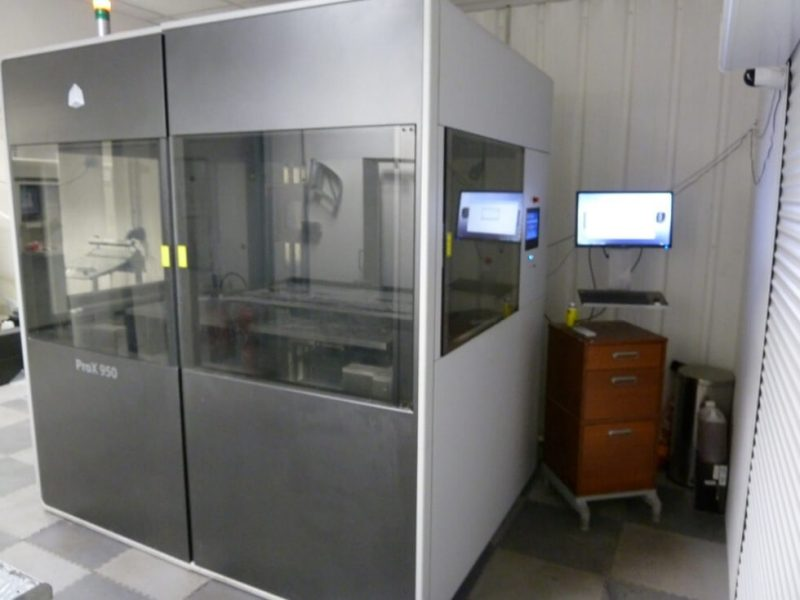 3D Systems ProX 950 impression