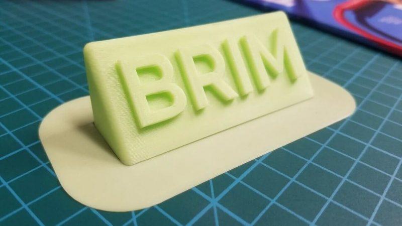 3d printing Brim
