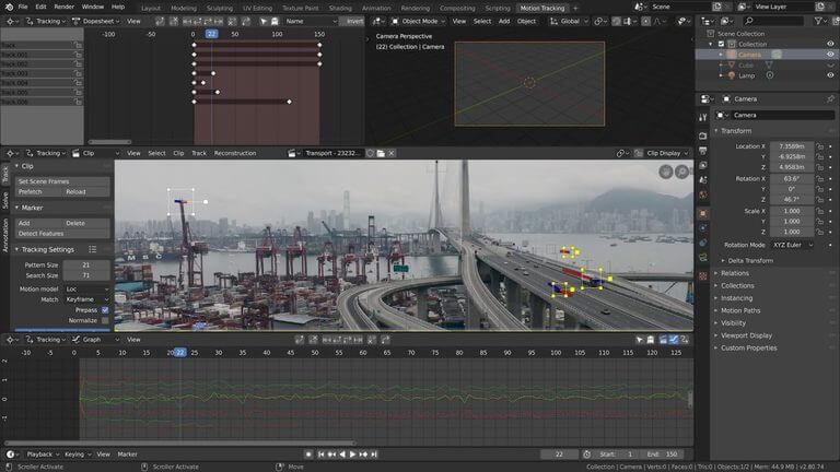 Blender CAD Simulation