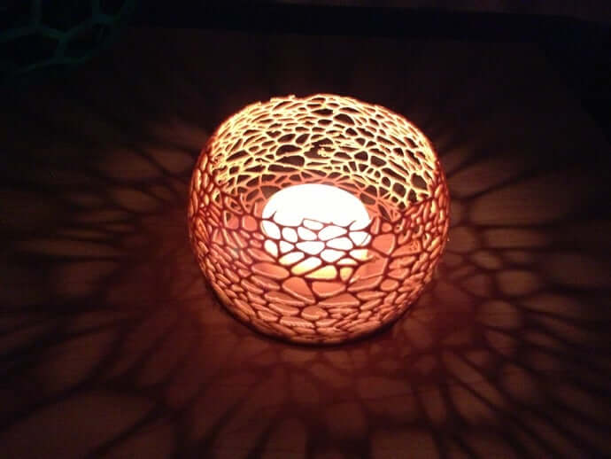 Coral Candle Fixture by ecken