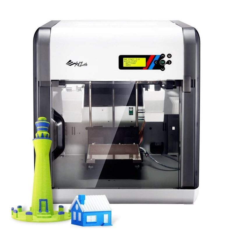 Da Vinci 2.0 A Duo 3D printer features
