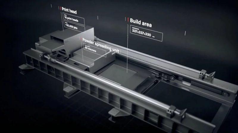 Desktop Metal Production System spec