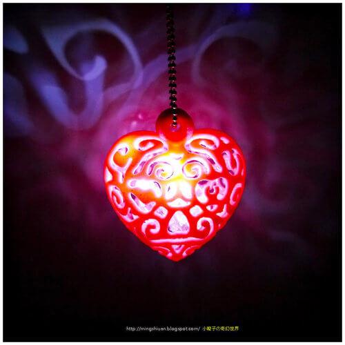 Heart light by mingshiuan