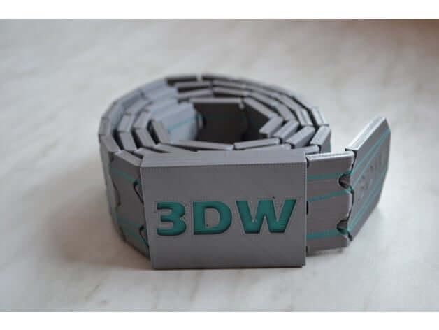 Hinge Style Belt Thingiverse