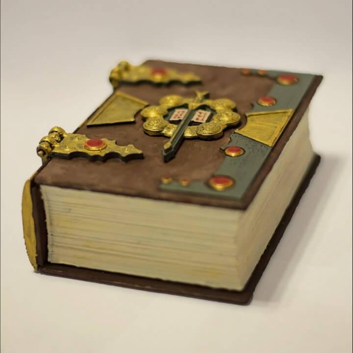 Hinged Style Secret Lock Book