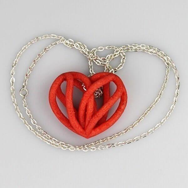 Spiral heart pendant by ideamx