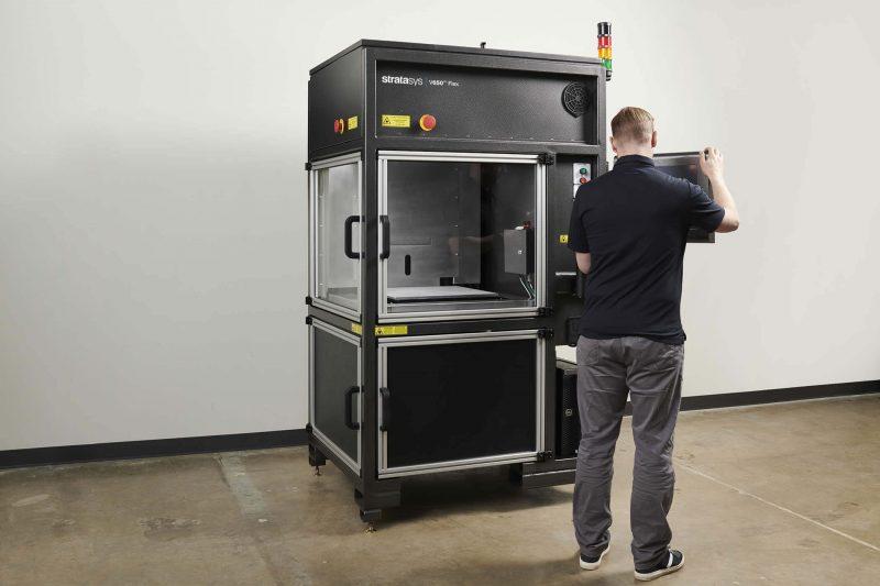 Stratasys V650 Flex 3D Printer impression