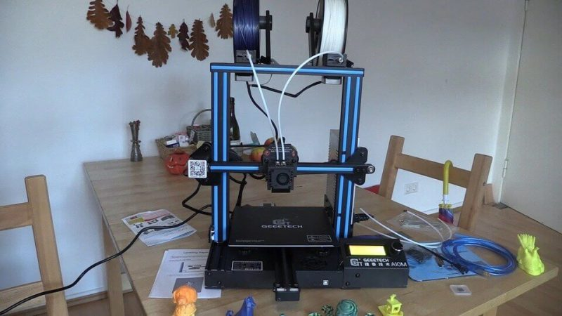 geeetech a10m 3d printer impression