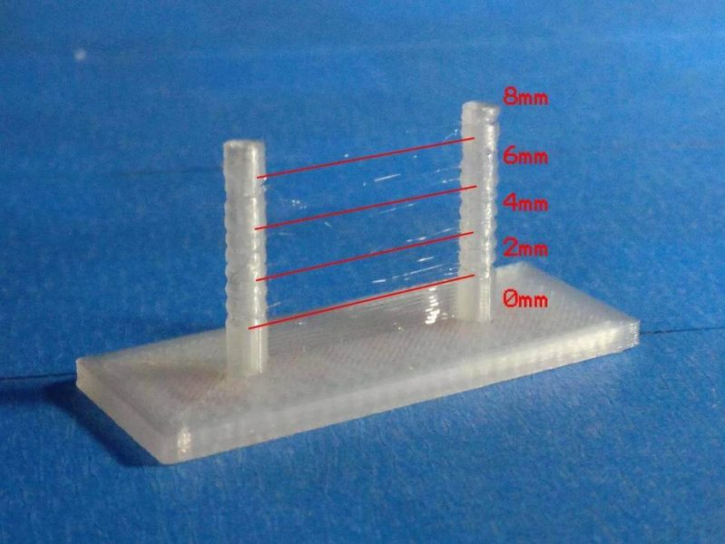 3D Printing Retraction Distance