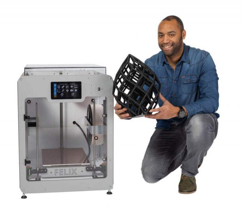Felix Pro L 3D Printer impression