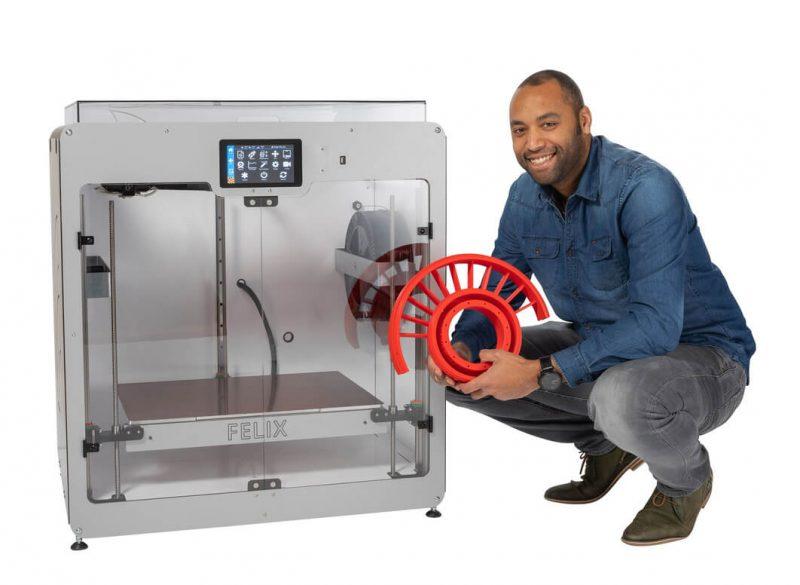 Felix Pro XL 3D printer impression