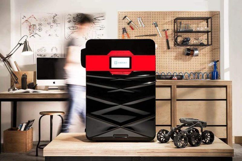 Sinterit Lisa Pro 3D Printer impression