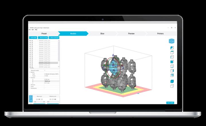 Sinterit Studio Open 2019 software
