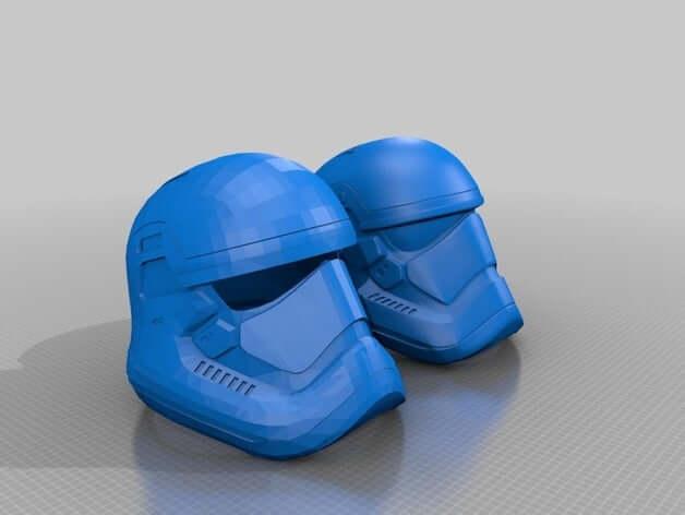 Star Wars Episode 7 Printable Helmet by Jace1969
