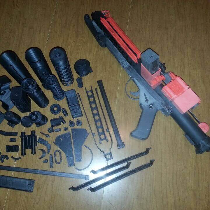 Storm Trooper Blastech E-11 Blaster Rifle