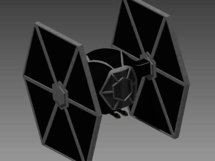 Tie Fighter by AssertiveWall