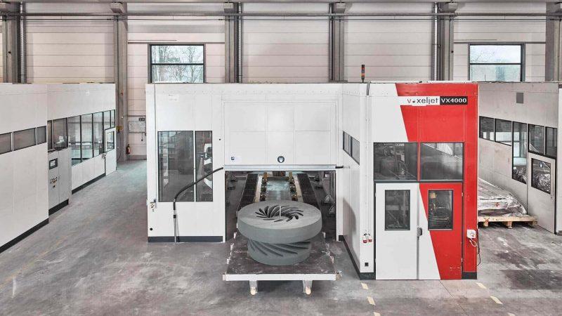 Voxeljet VX4000 3D Printer impressions