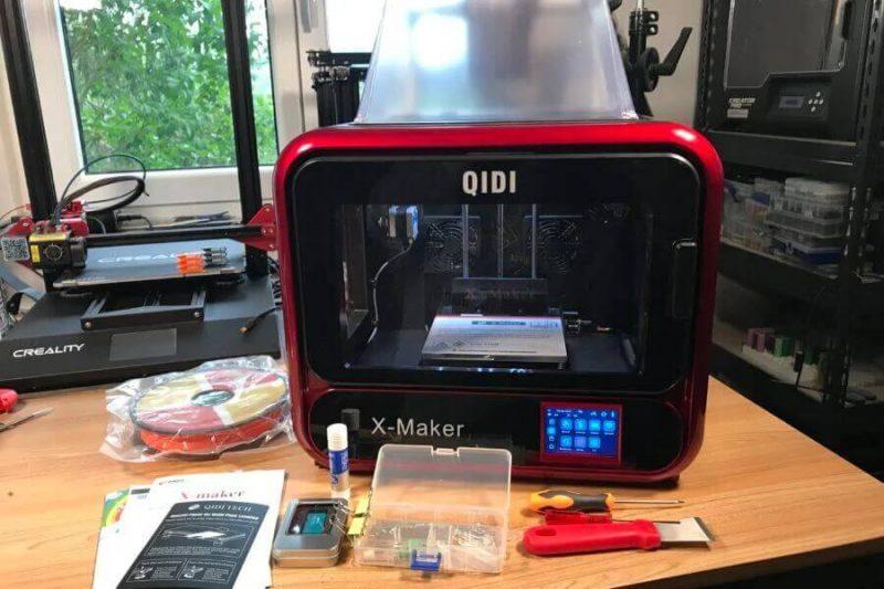 qidi tech x maker impression
