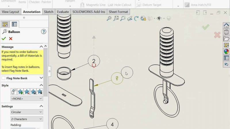 solidworks Assembly Drawings