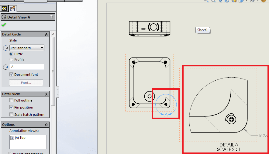 solidworks different views